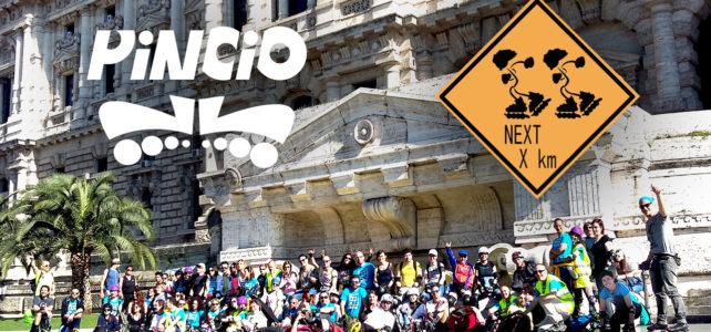 PPUG a Roma con i Pattinatori del Pincio 2017