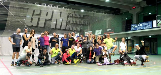 Saturday Night Skate Fever by GPMilano.com