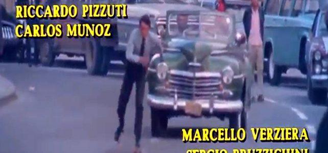 Più Forte Ragazzi 1972 Scena di pattinaggio in strada