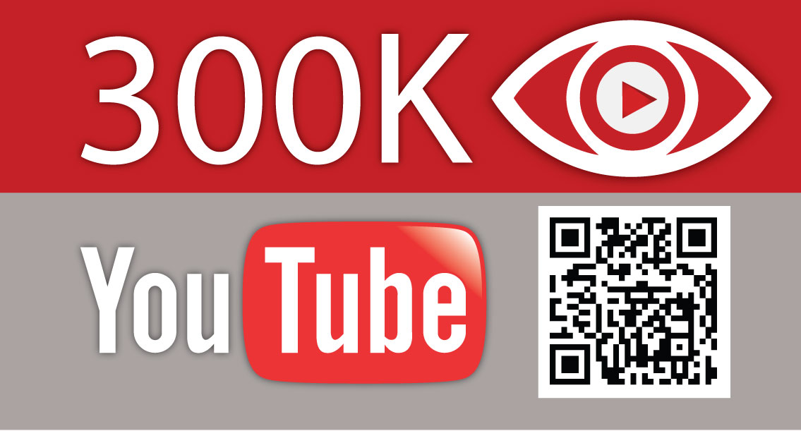 Trecentomila visualizzazioni del canale YouTube e qualche statistica