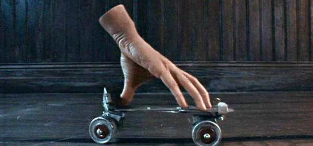 La famiglia Addams 2 – Scena mano che pattina