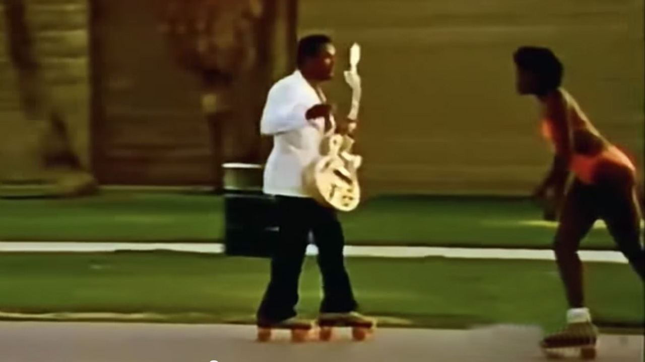 Roller Skate George Benson – Give Me The Night