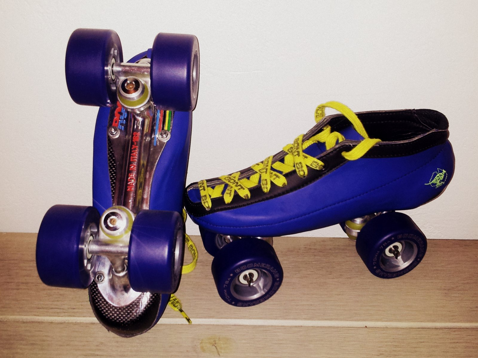 Rogua Racing & BONT, New Quad Speed Skate by Régis Hebert