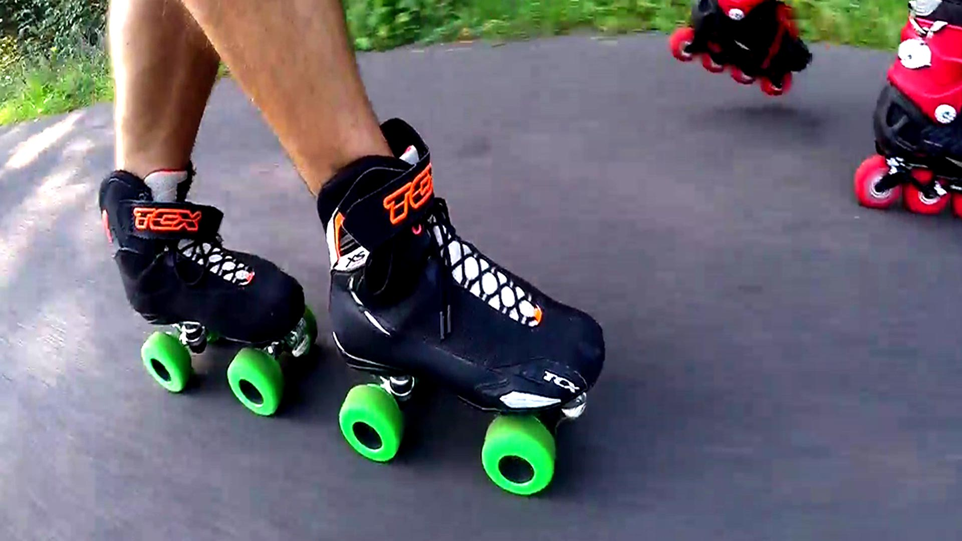 Roller Quad da strada