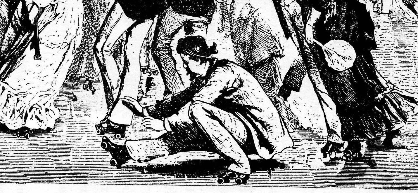 Storia del pattinaggio dal 1760 al 1911 secondo B. Del Marco