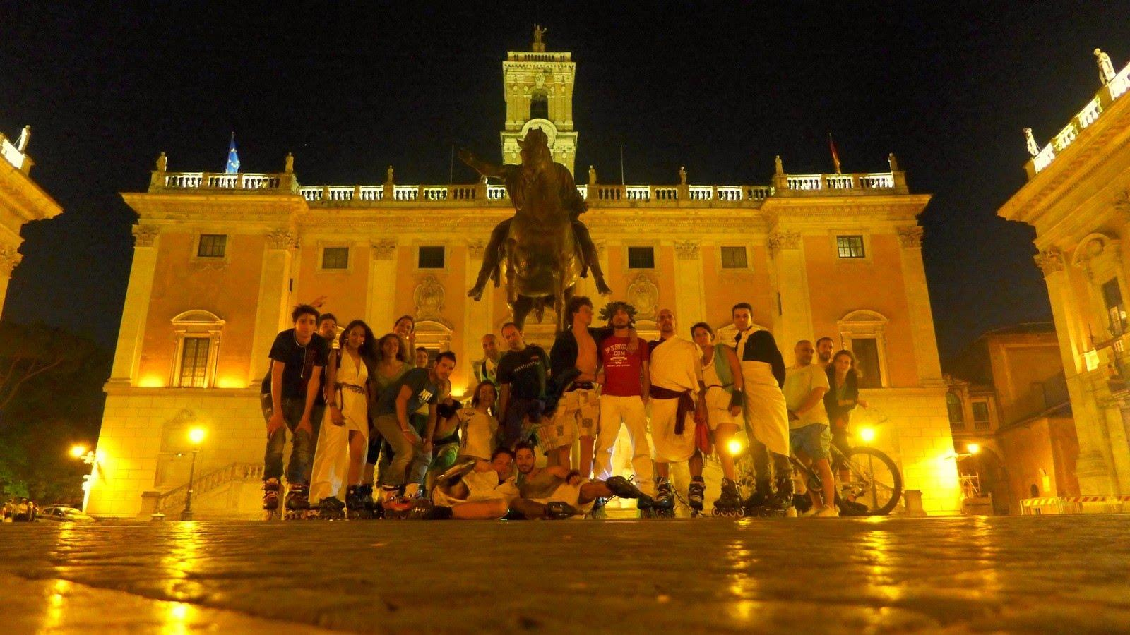 Wednesday Night Skate 2013 – ROMA Toga Roller
