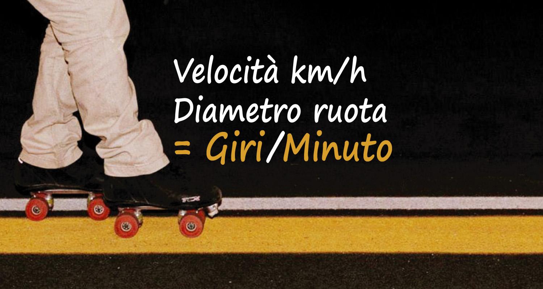 Calcolo Giri/Minuto di una ruota