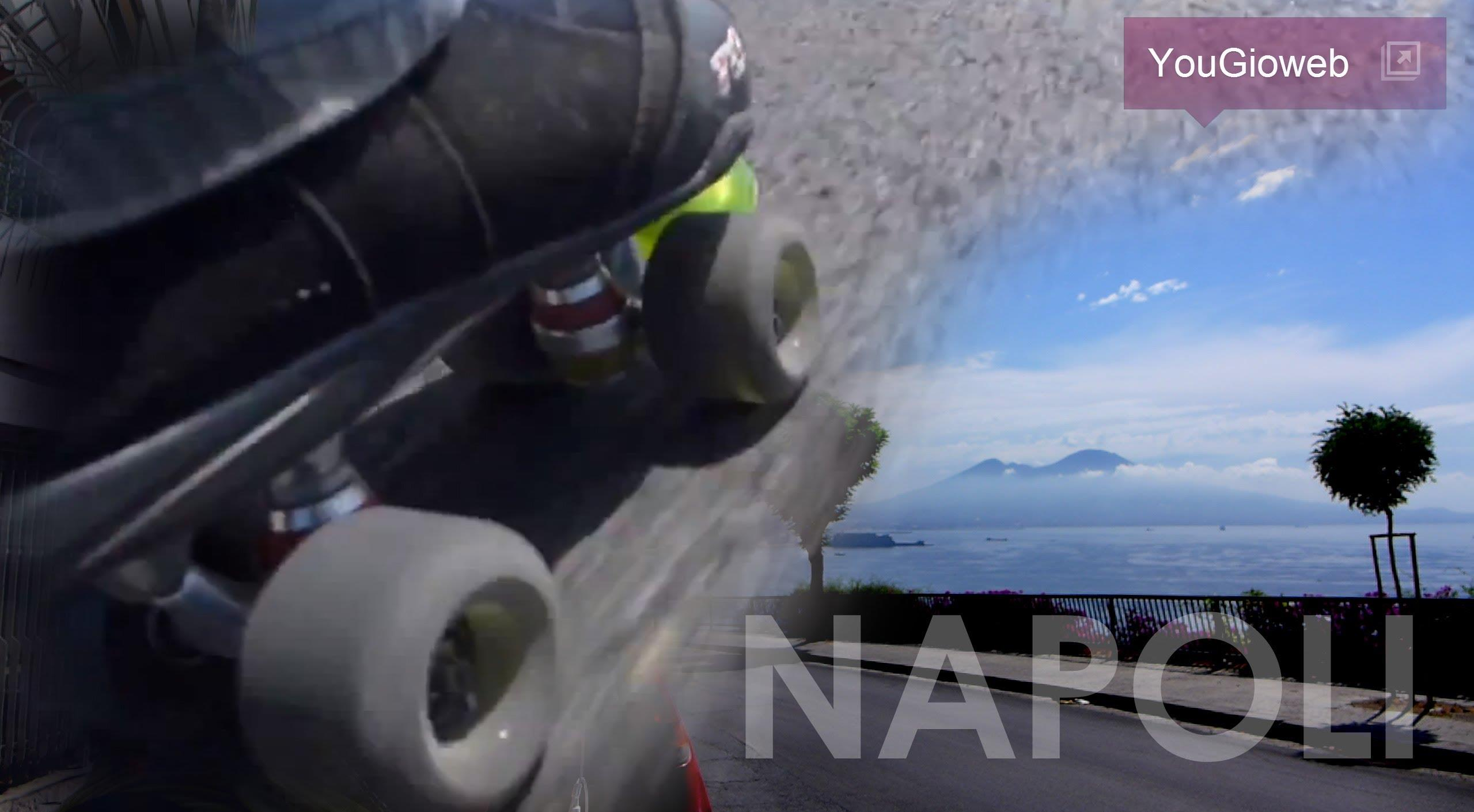 Downhill Roller Quad Tour NAPOLI Italy