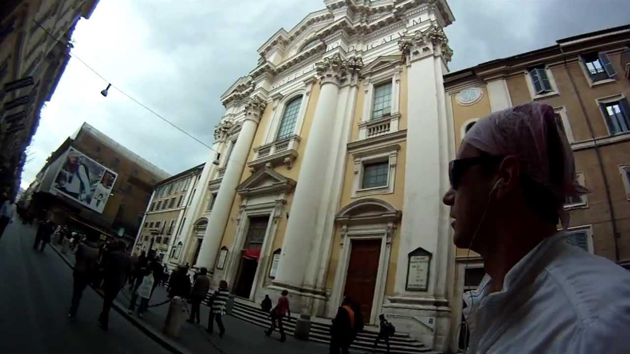 Roller Skate – Giovanni Simiani in Via del Corso Roma
