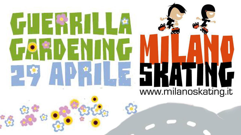 Guerrilla Gardening Milanoskating