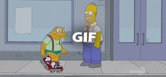 Homer Simpson Roller Skate