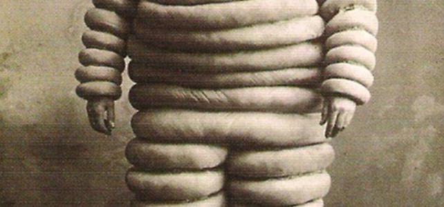 Omino Michelin sui pattini