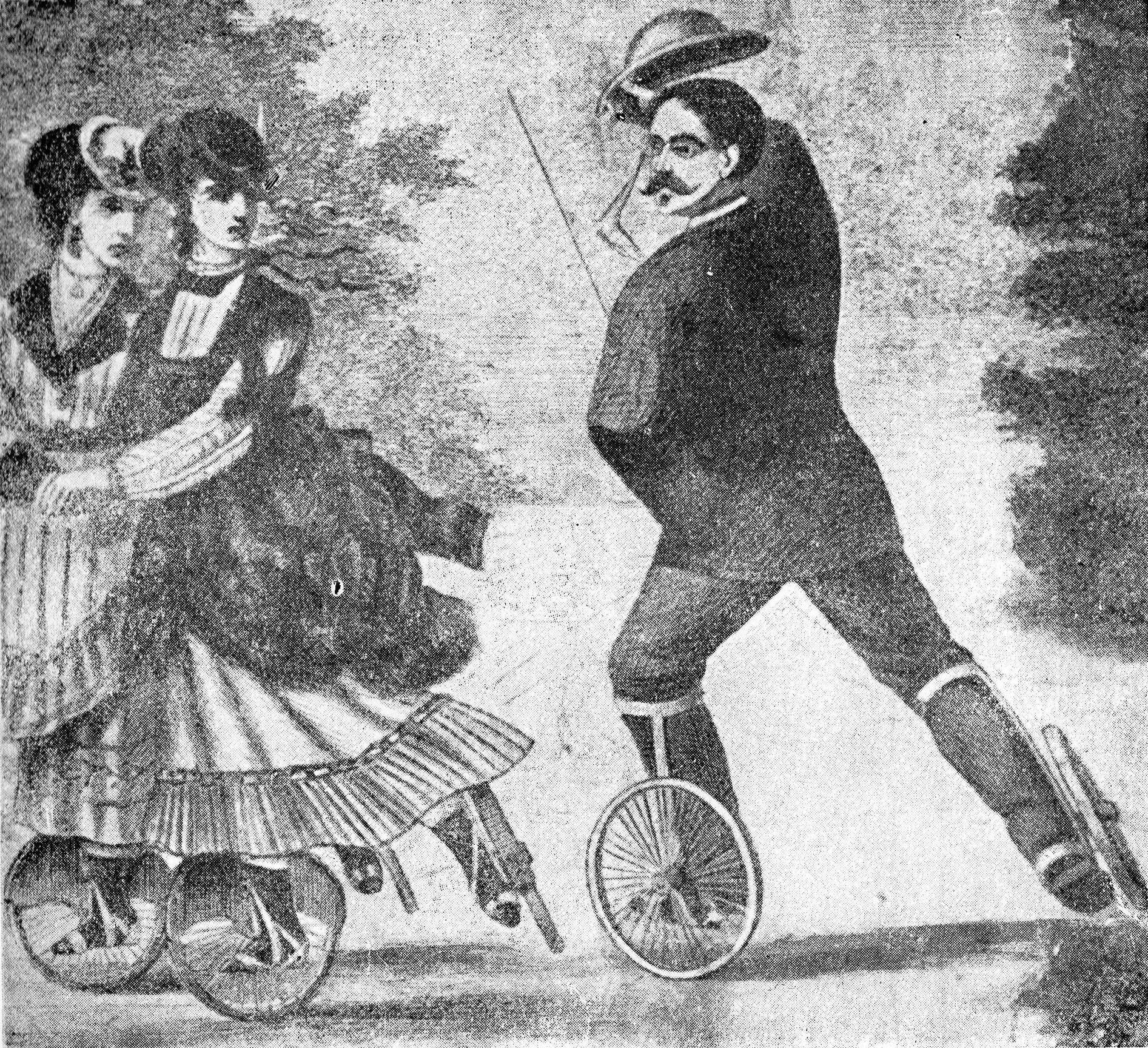 Figura 2 - Pattinatori Bois de Boulogne 1837