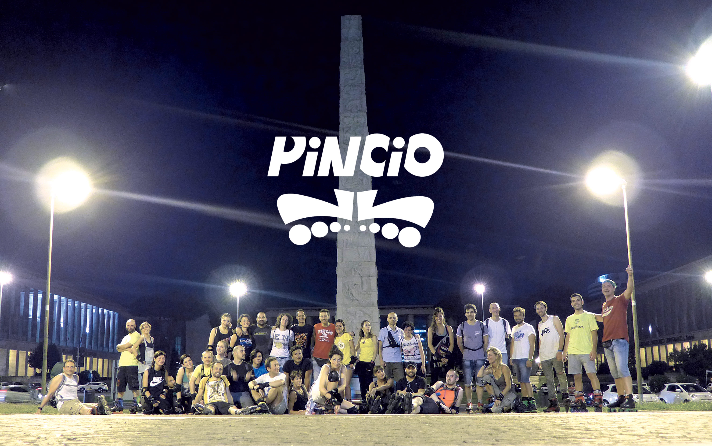Pattinatori del Pincio in Piazza Guglielmo Marconi Roma (Obelisco Marconi)
