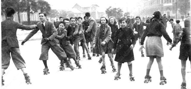 Una storia di pattinaggio a Milano