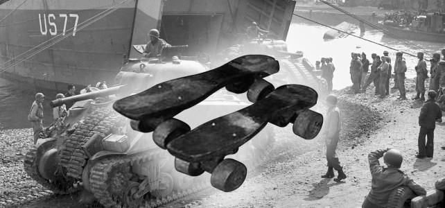 Una storia di pattinaggio durante la seconda guerra mondiale