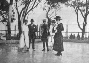 pista di pattinaggio tennis club napoli 1911