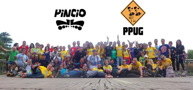 PPUG a Roma con i Pattinatori del Pincio 2015