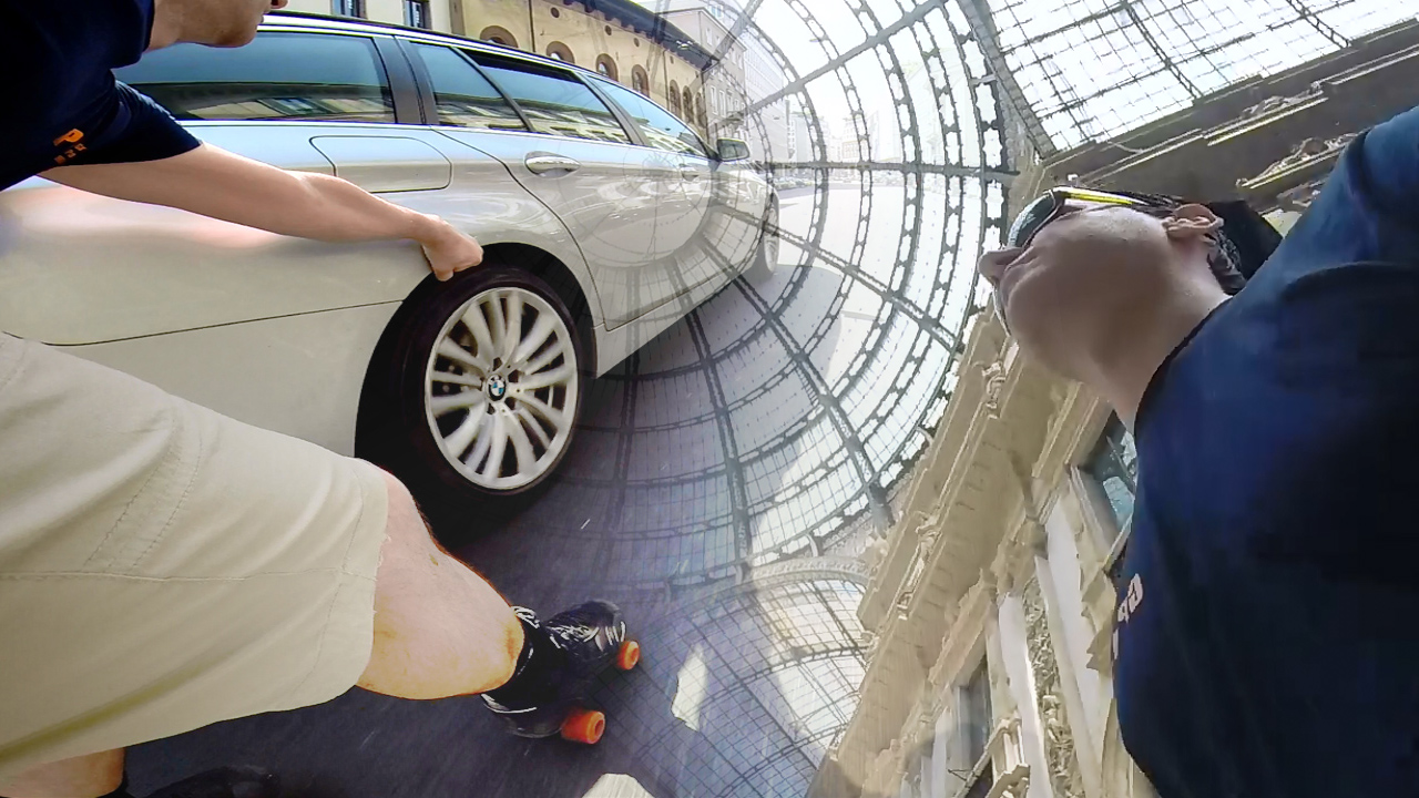 Milano Roller Skate Tour 2014
