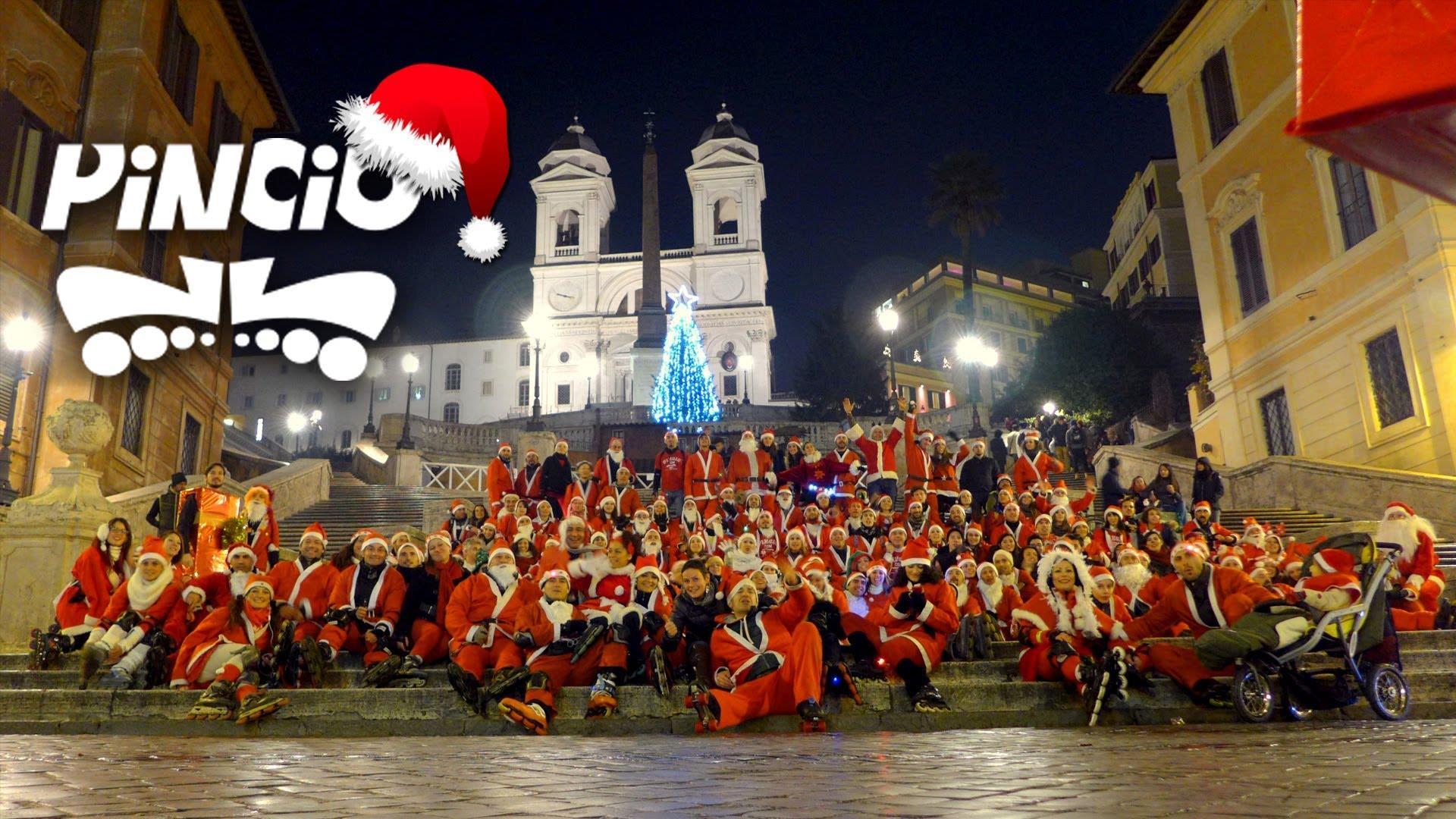 Santa Skate 2013 – Girotondo 167 Babbo Roller a Roma