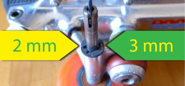 Rondelle spaziatrici per pattini con asse 7mm